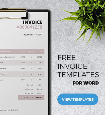 Classy Invoice Template Giveaway - The Chic Client - Freenvoices